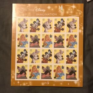 Stamps — The art of Disney imagination